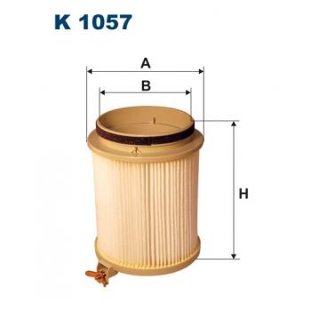 Filtron K 1057 - kabinovy filtr