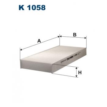 Filtron K 1058 - kabinovy filtr