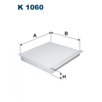 Filtron K 1060 - kabinovy filtr