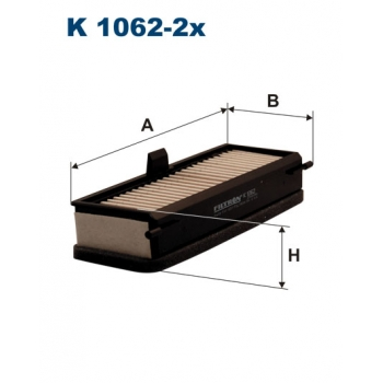 Filtron K 1062-2X - kabinovy filtr