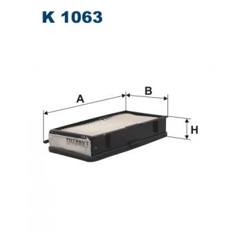 Filtron K 1063 - kabinovy filtr