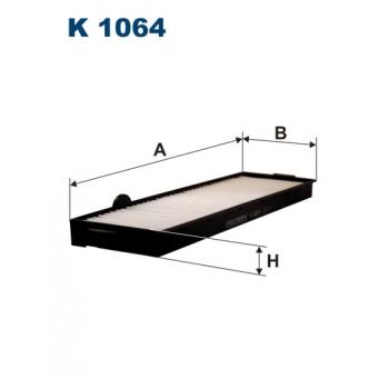 Filtron K 1064 - kabinovy filtr