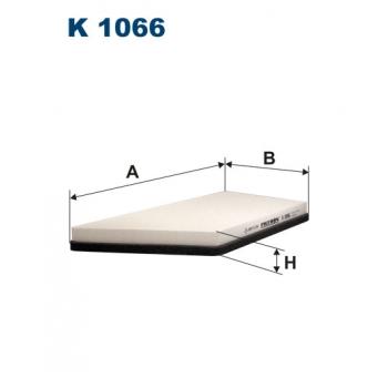Filtron K 1066 - kabinovy filtr