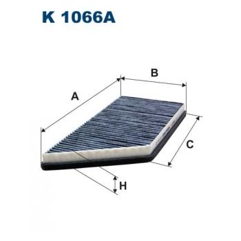 Filtron K 1066A - kabinovy filtr