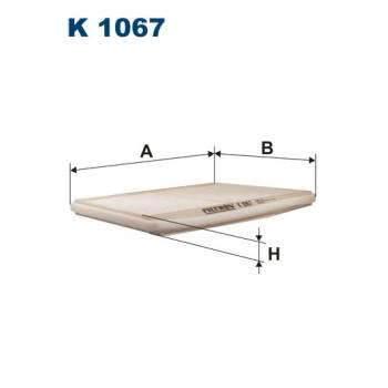 Filtron K 1067 - kabinovy filtr