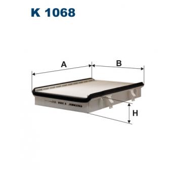 Filtron K 1068 - kabinovy filtr