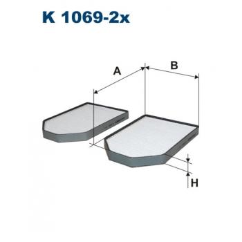 Filtron K 1069-2X - kabinovy filtr