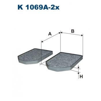 Filtron K 1069A-2X - kabinovy filtr