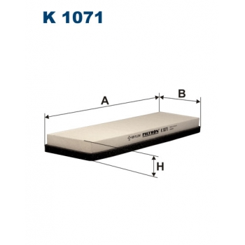 Filtron K 1071 - kabinovy filtr
