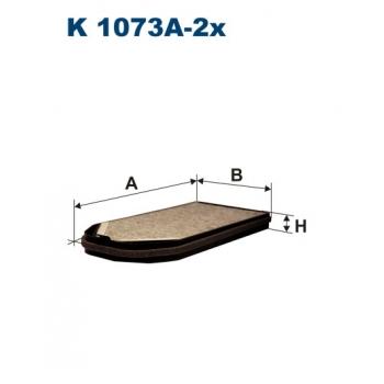 Filtron K 1073A-2X - kabinovy filtr