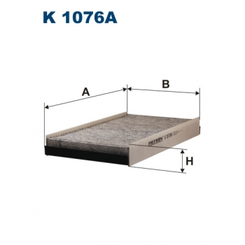 Filtron K 1076A - kabinovy filtr