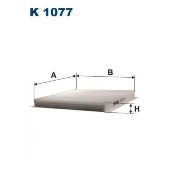 Filtron K 1077 - kabinovy filtr