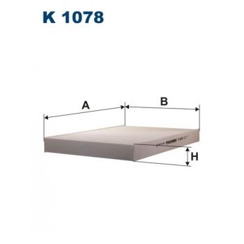 Filtron K 1078 - kabinovy filtr