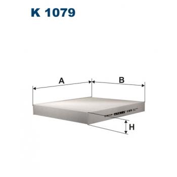 Filtron K 1079 - kabinovy filtr