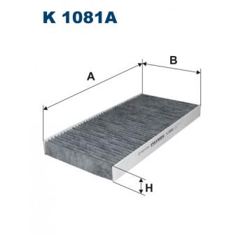 Filtron K 1081A - kabinovy filtr
