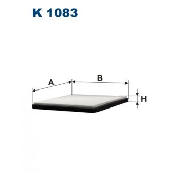 Filtron K 1083 - kabinovy filtr