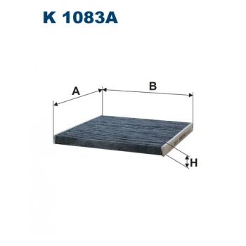 Filtron K 1083A - kabinovy filtr