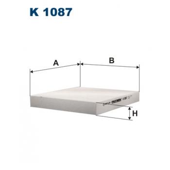Filtron K 1087 - kabinovy filtr