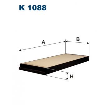 Filtron K 1088 - kabinovy filtr