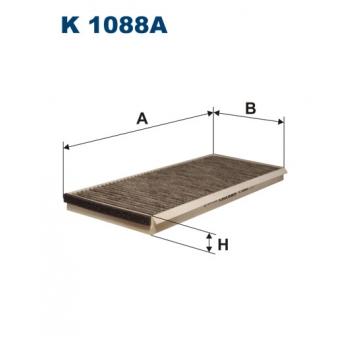Filtron K 1088A - kabinovy filtr
