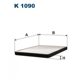 Filtron K 1090 - kabinovy filtr
