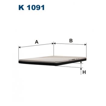 Filtron K 1091 - kabinovy filtr