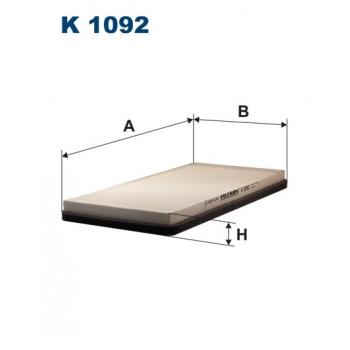 Filtron K 1092 - kabinovy filtr