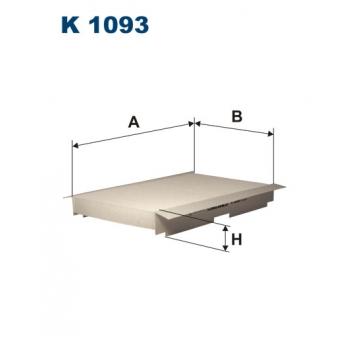 Filtron K 1093 - kabinovy filtr