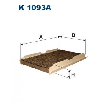 Filtron K 1093A - kabinovy filtr