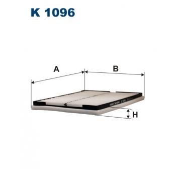 Filtron K 1096 - kabinovy filtr