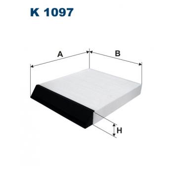 Filtron K 1097 - kabinovy filtr