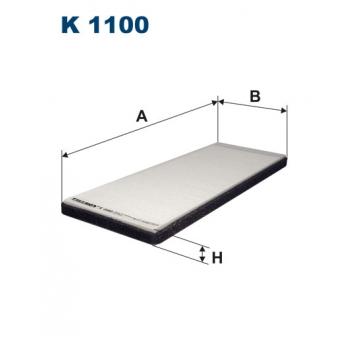 Filtron K 1100 - kabinovy filtr