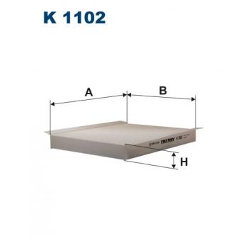 Filtron K 1102 - kabinovy filtr