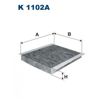 Filtron K 1102A - kabinovy filtr