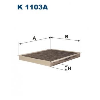 Filtron K 1103A - kabinovy filtr