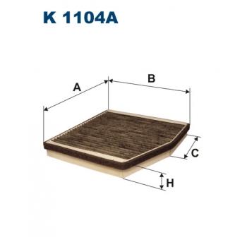 Filtron K 1104A - kabinovy filtr