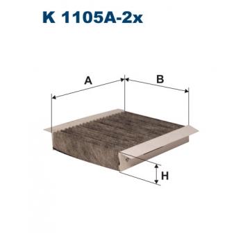 Filtron K 1105A-2X - kabinovy filtr