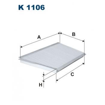 Filtron K 1106 - kabinovy filtr