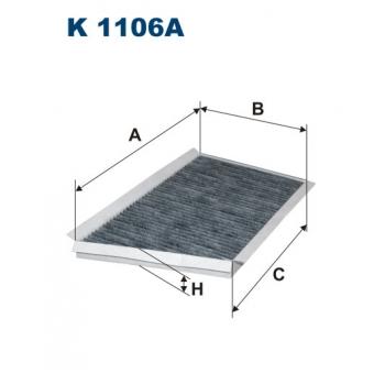Filtron K 1106A - kabinovy filtr