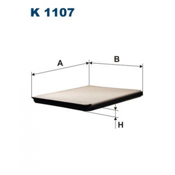 Filtron K 1107 - kabinovy filtr