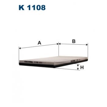 Filtron K 1108 - kabinovy filtr