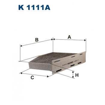 Filtron K 1111A - kabinovy filtr