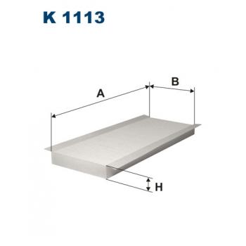 Filtron K 1113 - kabinovy filtr