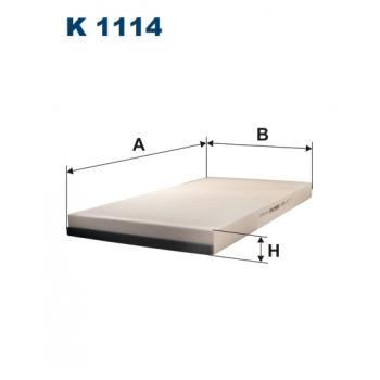 Filtron K 1114 - kabinovy filtr