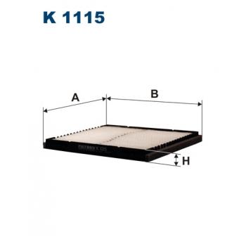 Filtron K 1115 - kabinovy filtr