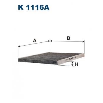 Filtron K 1116A - kabinovy filtr