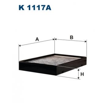 Filtron K 1117A - kabinovy filtr