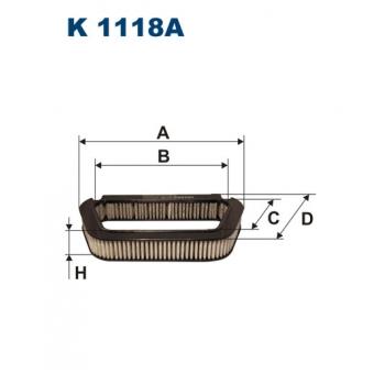 Filtron K 1118A - kabinovy filtr