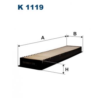 Filtron K 1119 - kabinovy filtr