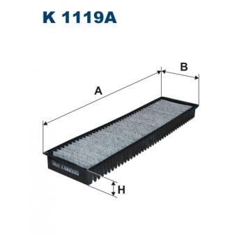 Filtron K 1119A - kabinovy filtr